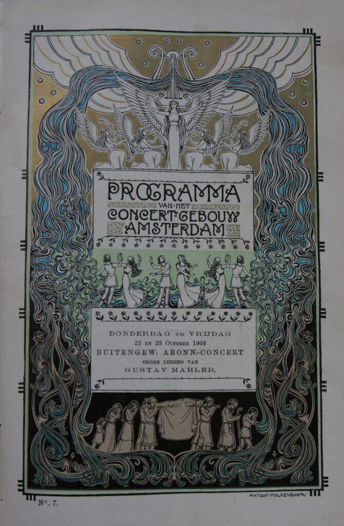 Programmaboekje 22 en 23 oktober 1903