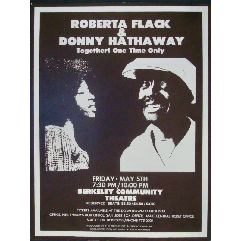 Roberta Flack & Donny Hathaway Berkeley 1972