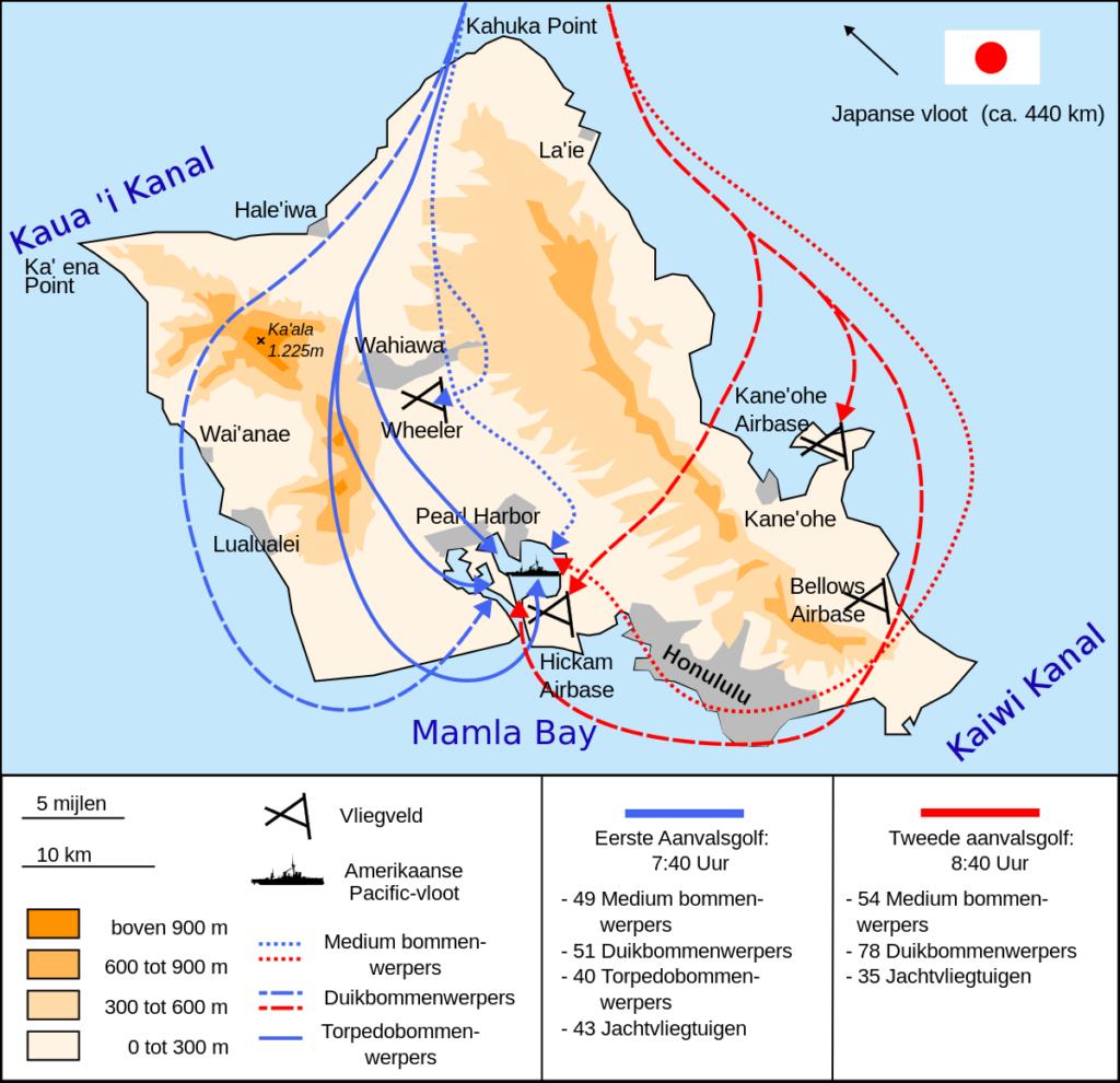 Aanval op Pearl Harbor 7 december 1942