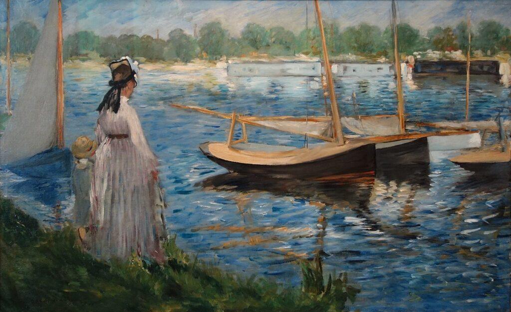 La Seine a Argenteuil (1864)