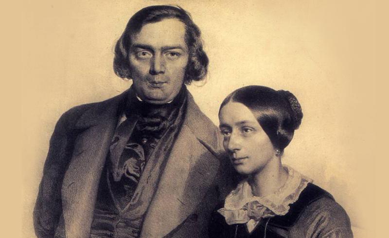 Robert en Clara Schumann