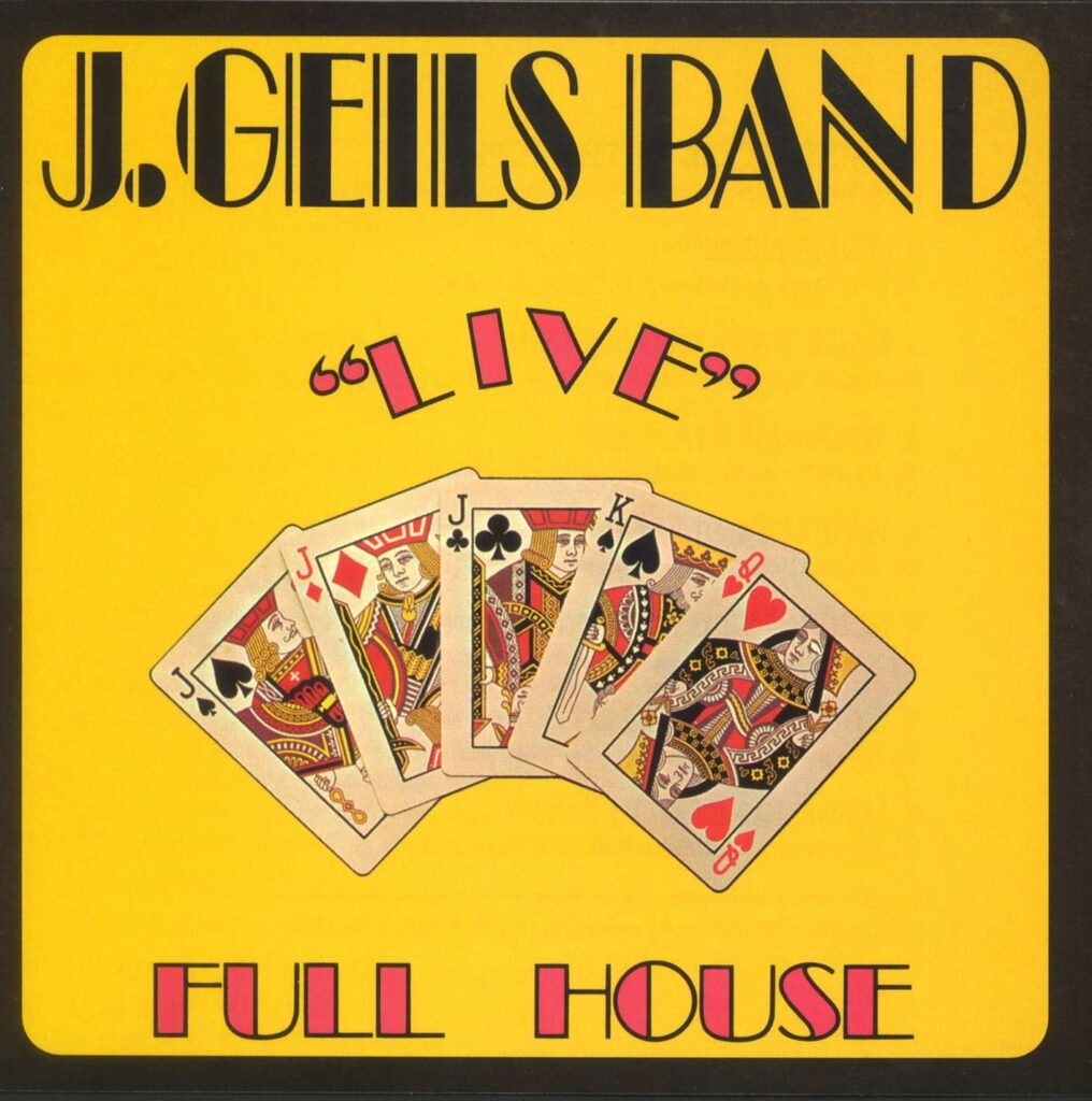 J. Geils Band - Full House