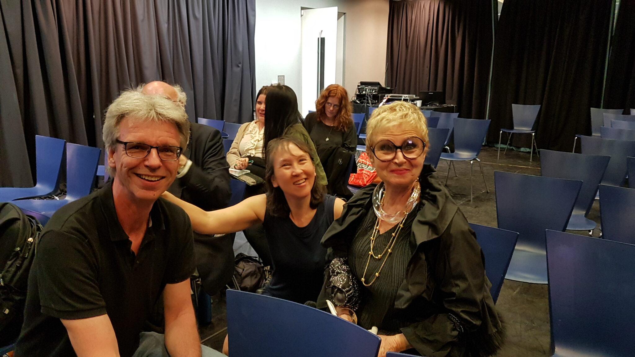 2017 Bert, Judith en Marina Mahler